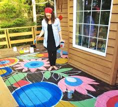 best 25 painted deck floors ideas on pinterest how to paint