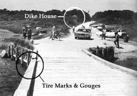Chappaquiddick Cia Chappaquiddick Bridge Where Ted Kennedy S Car Went And