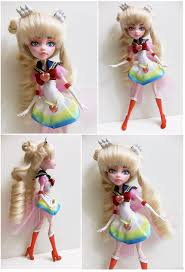 super sailor moon doll azure and copper crafts