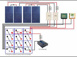 diy solar panel system battery bank wiring
