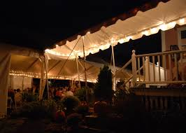 Canopy String Lights by Lighting Atent For Rent