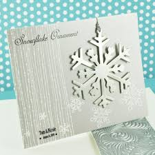 ornament favors snowflake ornament winter wedding favors