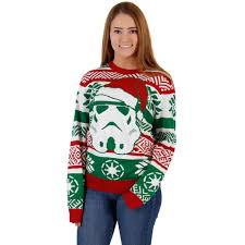 sweater wars s wars santa stormtrooper sweater