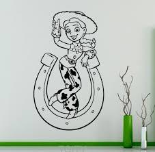 toy story jessie wall vinyl sticker cartoons decal home interior