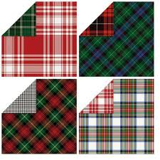 reversible christmas wrapping paper 191 best christmas plaid images on tartan christmas