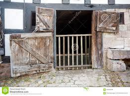 Barn Door Gate by Old Rustic Wooden Barn Door Stock Photo Image 56303238