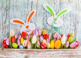 easter backdrops 7x5ft wood floor photographic background colorful