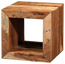 wood cube end table convertible wood cube accent tables solid wood cubes furniture
