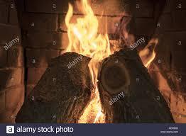 brick fireplace firewood in house stock photos u0026 brick fireplace