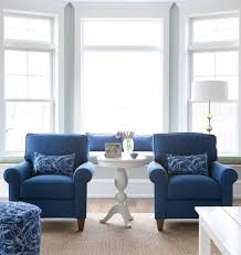 Best Wingback Chairs Images On Pinterest Armchair Chairs And - Blue living room chairs