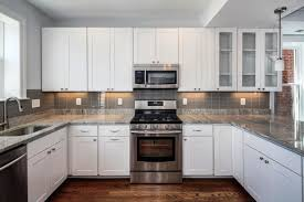 Backsplashes For White Kitchens by White Kitchen Cabinets For Sale Black Laminated Wooden Wall