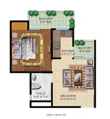 Apartment Designs And Floor Plans by Studio Apartment Noida Foreste Apartments Located At Greater