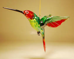 hummingbird ornament etsy