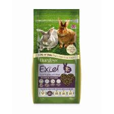 rabbit food burgess excel light nugget rabbit food pets at home