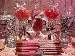 Chocolate Candy Buffet Ideas by 89 Best Pink And White Candy Buffet Images On Pinterest Candy