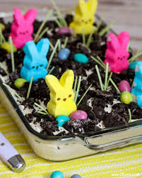 easter dirt cake lil