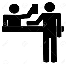 Reception Desk Black by 5 794 Reception Desk Cliparts Stock Vector And Royalty Free