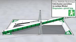 treppe nachtrã glich einbauen wellhöfer treppen videoanleitung bodentreppen richtig einbauen