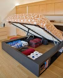 Platform Bed With Storage Underneath Size Platform Bed With Storage Underneath The
