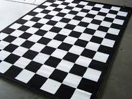 Checkered Area Rug Checkered Rug Fabulous Black And White Area Rugs Black And White