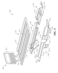 patent us8807906 flatbed tow truck pivoting platform assembly