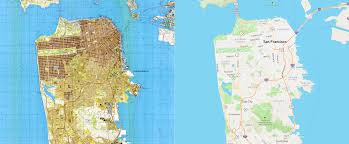 San Francisco Street Map by Open Source Map And Seoul History Of Technology Commons And Open