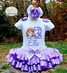 sofia the ribbon sofia the tutu set ribbon trim birthday set includes top