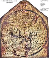 On The Map Hereford Map Jerusalem Again As Centre And The Translatio Imperii