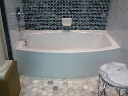 kohler bathroom ideas kohler expanse tub with a bowed front bathroom ideas