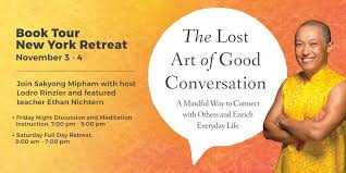 the lost art of good conversation book tour new york retreat