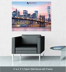 fabric wall mural custom fabric print more views fabric wall mural