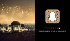 why burberry is in with snapchat