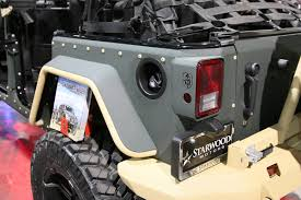 armored jeep wrangler unlimited special forces road armor jk jeep wrangler gat daily guns ammo
