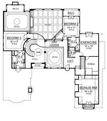 villa plans villa royale 4483 3 bedrooms and 5 baths the house designers