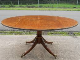 expandable round pedestal dining table modern round pedestal