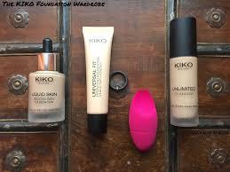 best kind of foundation gyudy u0027s notes of beauty the kiko foundation wardrobe