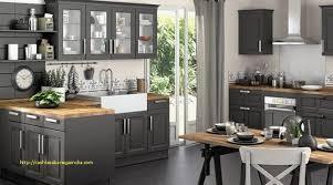 cuisine avec plan de travail en bois cuisine grise plan de travail bois vos idées de design d intérieur