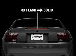 mustang third brake light restore raxiom mustang 3rd brake light flasher 388879g94 94 04 all free
