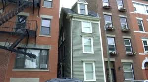 narrowest house in boston inside the skinny boston home that was built out of spite necn