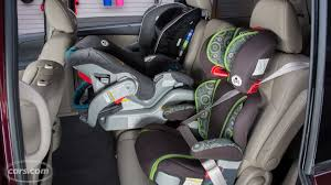 Car That Seats 5 Comfortably 2015 Honda Odyssey Car Seat Check Youtube