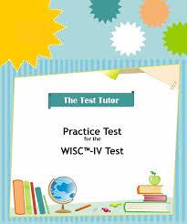 wisc v preparation kit the test tutor
