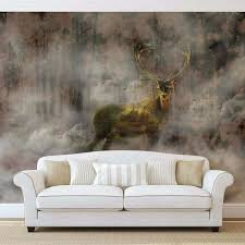 deer wall murals image collections home wall decoration ideas enchanting deer wall mural 67 cheap deer wall murals customer splendid deer wall mural 130 deer wall mural decals custom mural photo d full size amipublicfo
