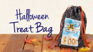 sew an easy trick or treat bag youtube