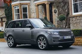 black land rover with black rims 2017 land rover range rover svautobiography dynamic first drive
