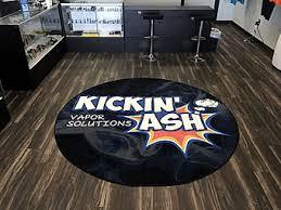 custom made high detail logo area rug