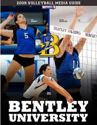 bentley university athletics logo 2009 bentley university volleyball media guide by lipe issuu