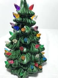 ceramic light up christmas tree mold ceramic tree ceramic trees collection on vintage