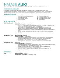 sample secretary resume and tips recentresumes com