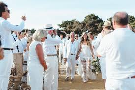 yolancris news beach wedding in formentera laura u0026 alex
