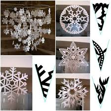 How To Make A Snowflakes Out Of Paper - awesome 3d paper snowflake ideas